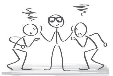 Streit schlichten