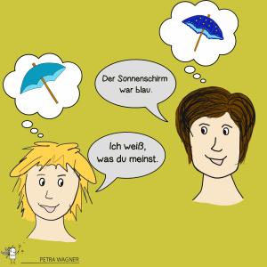 Arten der Kommunikation - Tilgung